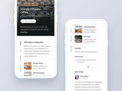 Workspace Rent App.