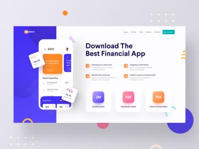 App Landing Web Ui