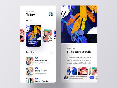 App Store App UI download app playstore top popular cards app ui game ios appstore apps