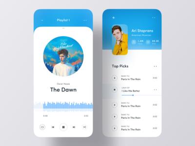 Music iOS App UI