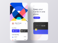 Credit Card iOS App Design