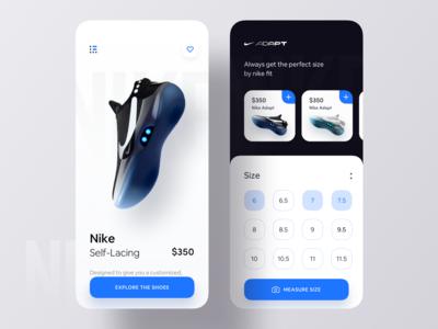 Nike Measure App Concept
