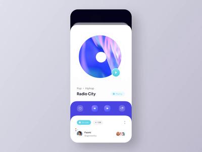 Audio Broadcasting iOS App