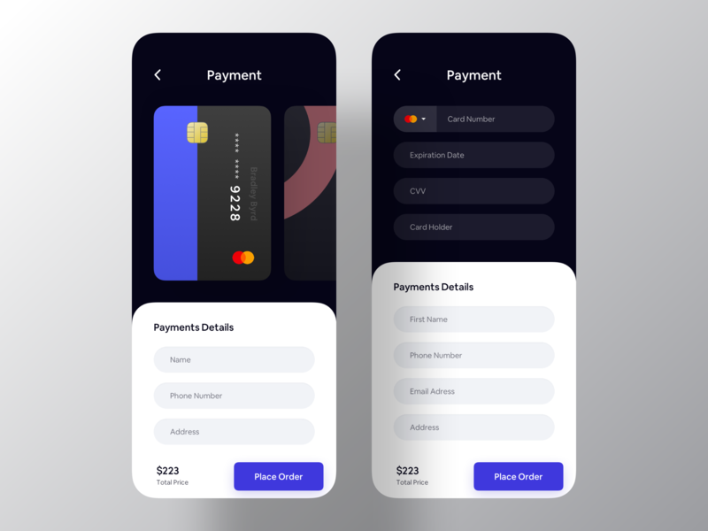 Payment Information purchase buy mobile app ios app design app design mastercard credit card card payment app ui