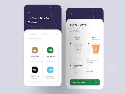 Coffee Maker App Concept