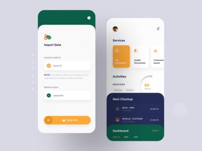 Medical App Concept Design
