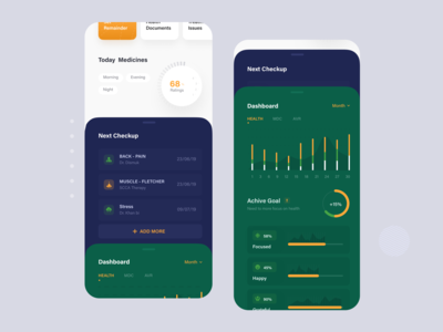 Medical iOS App UI