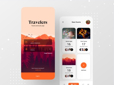 Travel Community App ios app ux ofspace traveling traveller travel website travellers travel agency travel guide case study travel ios travel blog travelling travel app community travel