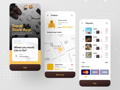 Travel Store App ios app ofspace dribbble bitcoin money banking app banking wallet app wallets wallet store design store app store travel store travel agency travelling travel app traveling travel
