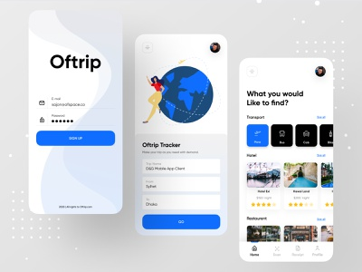 Oftrip - Business Travel Mgt App hotels hotel branding hotel booking hotel app booking.com ios app booking system booking app bookings booking travel agency travelling travel app traveling travel wallet app wallet ofspace oftrip