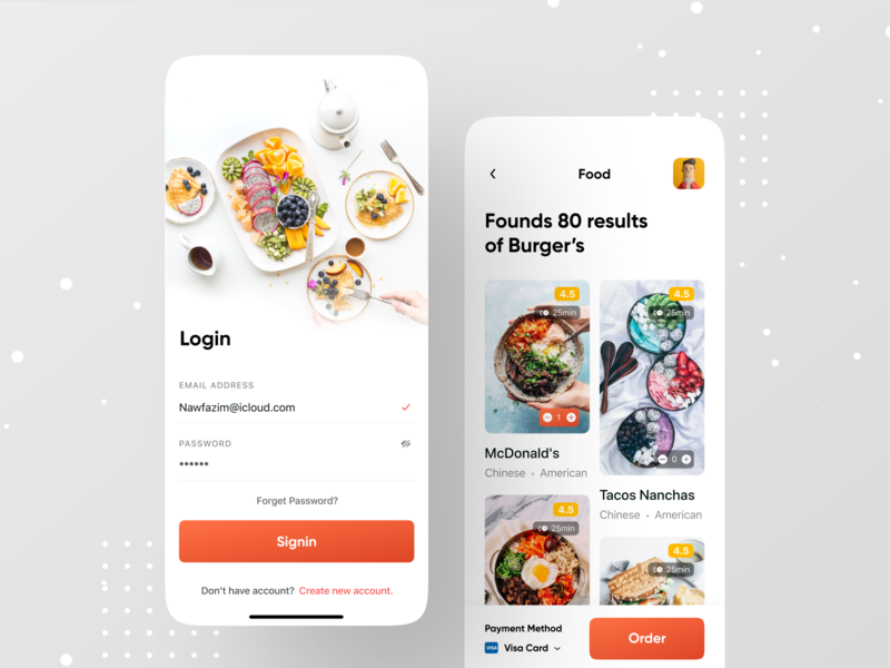 Food Application illustration dribbble ios app grabfood doordash ofspace yelp swiggy zomato restaurant branding restaurant app restaurants restaurant food illustration foodie food and drink food app food