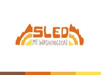Sled Mt. Washington Logo