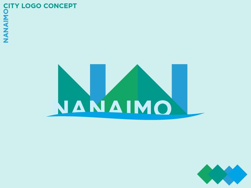 Nanaimo City Logo Concept modern city branding rough vector logo digital ideation logo concept concept illustrator