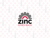 ZINC Gives Back Logo