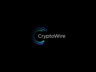 CryptoWire Logo app finance cryptowire logo crypto coin bitcoin