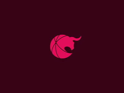 Chciago Bulls Signet redesign concept sport mascot ball basketball chicago bulls nba