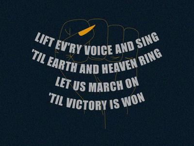 Juneteenth illustration lift every voice juneteenth
