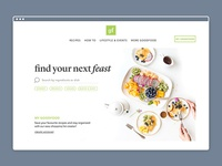 Goodfood Landing Page