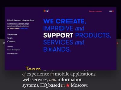 New Main Page for looi.co, looi.ru