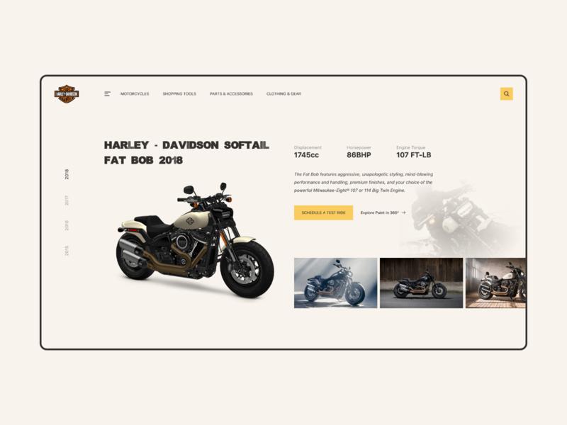 Harley-Davidson Fat Bob webdesign 2018 fat bob daily davidson harley motocycle