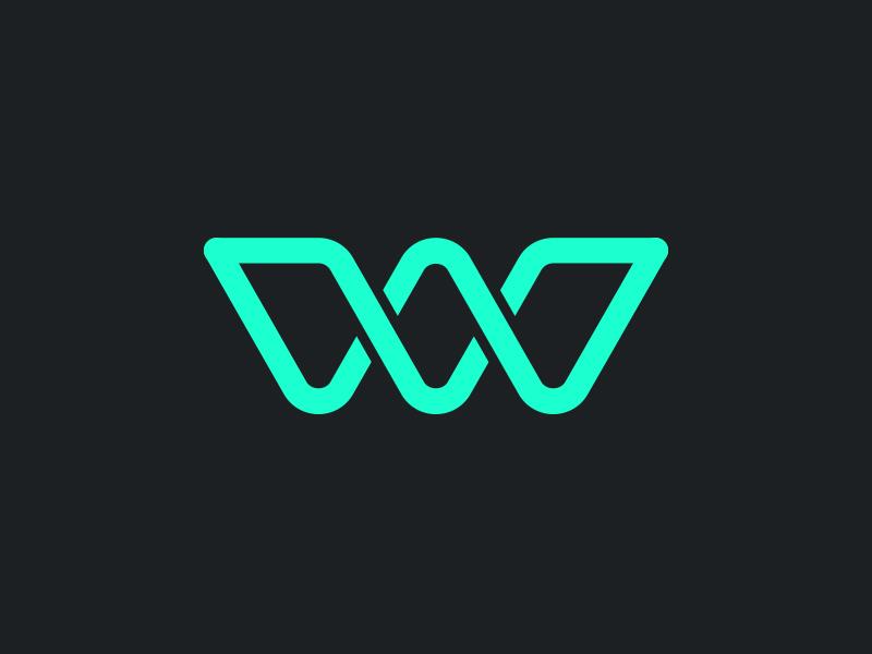 V w logo mark by fhoke dribbble dribbble for Design lago
