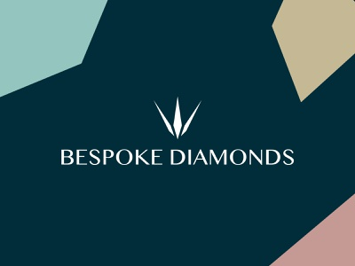 Bespoke Diamonds diamond logo jewellery crown sparkle