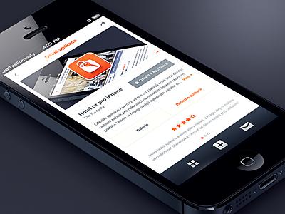 Allego AppPool UI tooltip the funtasty simple gallery app design ios mobile ui ux iphone