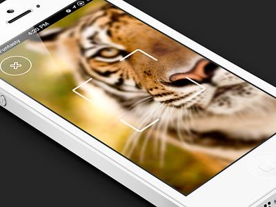 Meow the funtasty cat qr scan mobile ios design app camera iphone