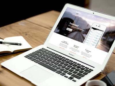 Our website ui web ux website iphone design ios mobile the funtasty laptop