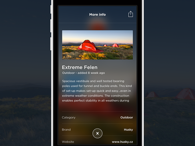 WIP  iphone dark ux ui mobile ios design app blur detail the funtasty ios7