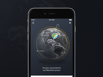 Concept application dark globe ios app thefuntasty concept iphone apple