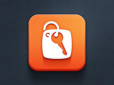 Hotel.cz icon WIP iphone hotel application icon mobile ios design app key orange the funtasty icon