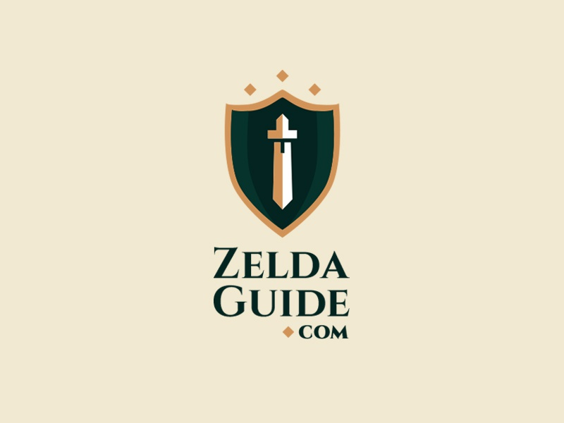 ZeldaGuide com – Thirty Day Logo Challenge (Day 1) by DEEPLOY on