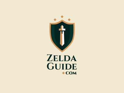 ZeldaGuide.com – Thirty Day Logo Challenge (Day 1)