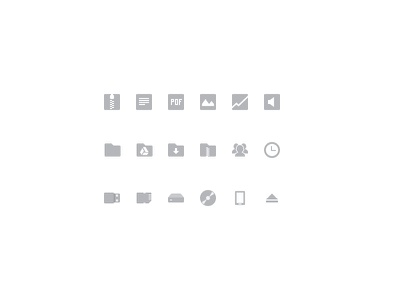 Files.app icons chrome chrome os files app icons simple shapes grey menu type devices