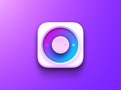 Colorful Switch knob switch on off colorful purple blue ios icon ipad