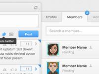 Groupie message board