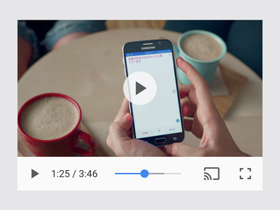 Chrome HTML5 Video Player play html android player video ui chrome