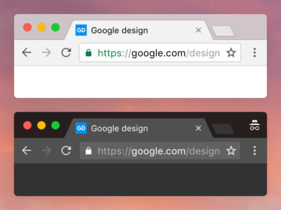 Chrome macOS google ui browser osx macos chrome