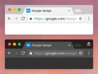 Chrome macOS google ui browser osx macos chrome