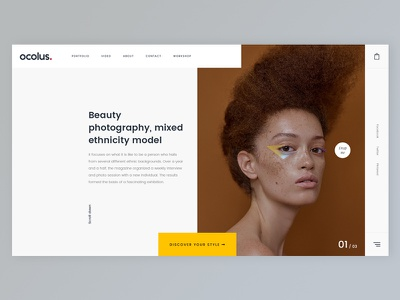 Ocolus Slider Concept - Creative & Modern Multi-Purpose ocolus wordpress ecommerce multipurpose fashion decor furniture plant market