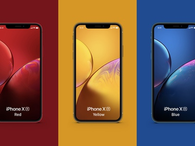 [FREE DOWNLOAD] iPhone XR Free Mockup Full Color psd mockup iphone xr mockup iphone xr iphone mockup free mockup freebie flat mockup