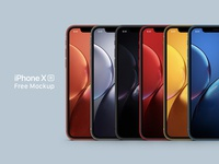 [FREE DOWNLOAD] iPhone XR Free Mockup Full Color