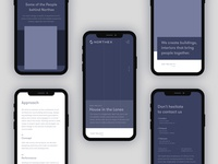 Northex Architecture & Construction Mobile [Wireframe]