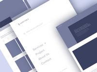 Northex Architecture Construction Website [Wireframe]