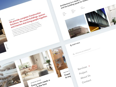 Northex Architecture Construction Website Otherpage