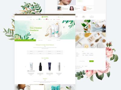 Ocolus - Cosmetic E-Commerce  WordPress Theme