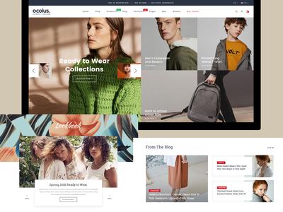 Ocolus Amazing E-Commerce Woocommerce Theme