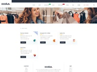 Ocolus vendor woocommerce theme 3x list