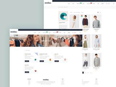 Ocolus - Multipurpose WordPress Theme for Multi-Vendors Site!